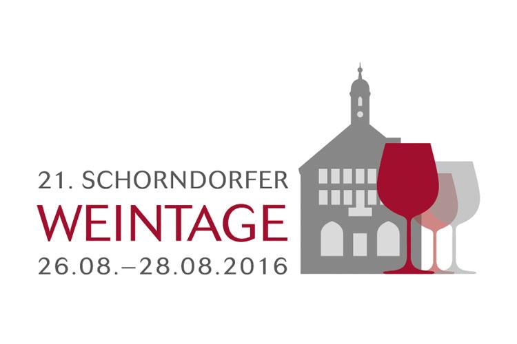 Logo der Schorndorfer Weintage 2016
