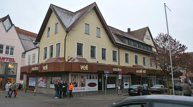 Modehaus Veil wird abgerissen