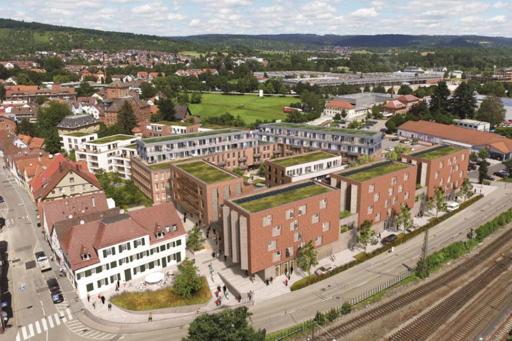 Entwurf von Pflugfelder Immobilien für das Breuninger-Areal