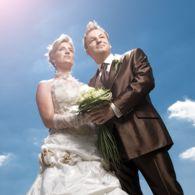 Hochzeitspaar Bildnachweis: Oswald Fotodesign