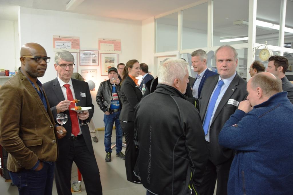 Unternehmens-Einblicke am 27.03.2017 bei pbInnova