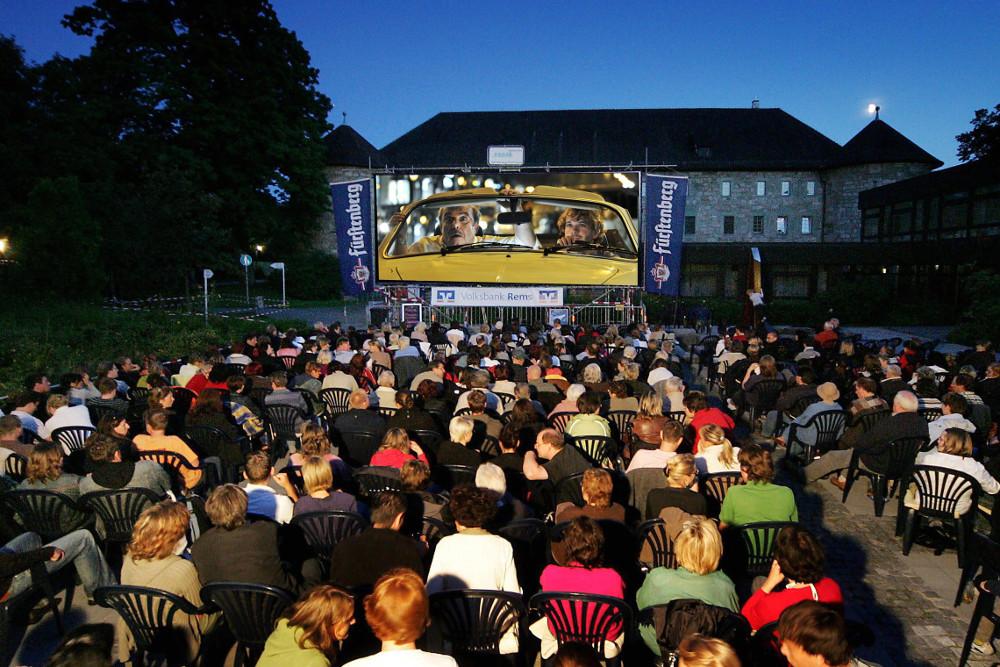 Open-Air-Kinovergnügen im August.