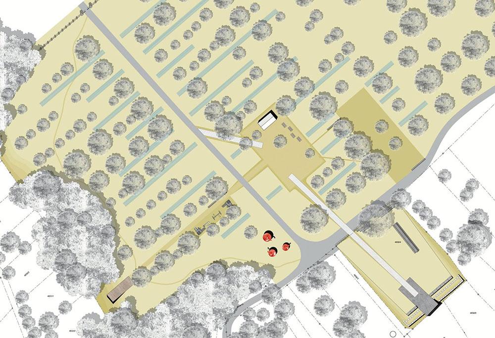 Plan des Grafenbergs