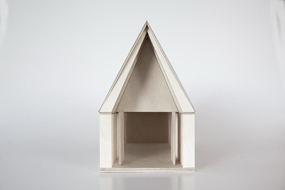 Modell der Kapelle - Dietrich/Untertrifaller Architekten - Angela Lamprecht
