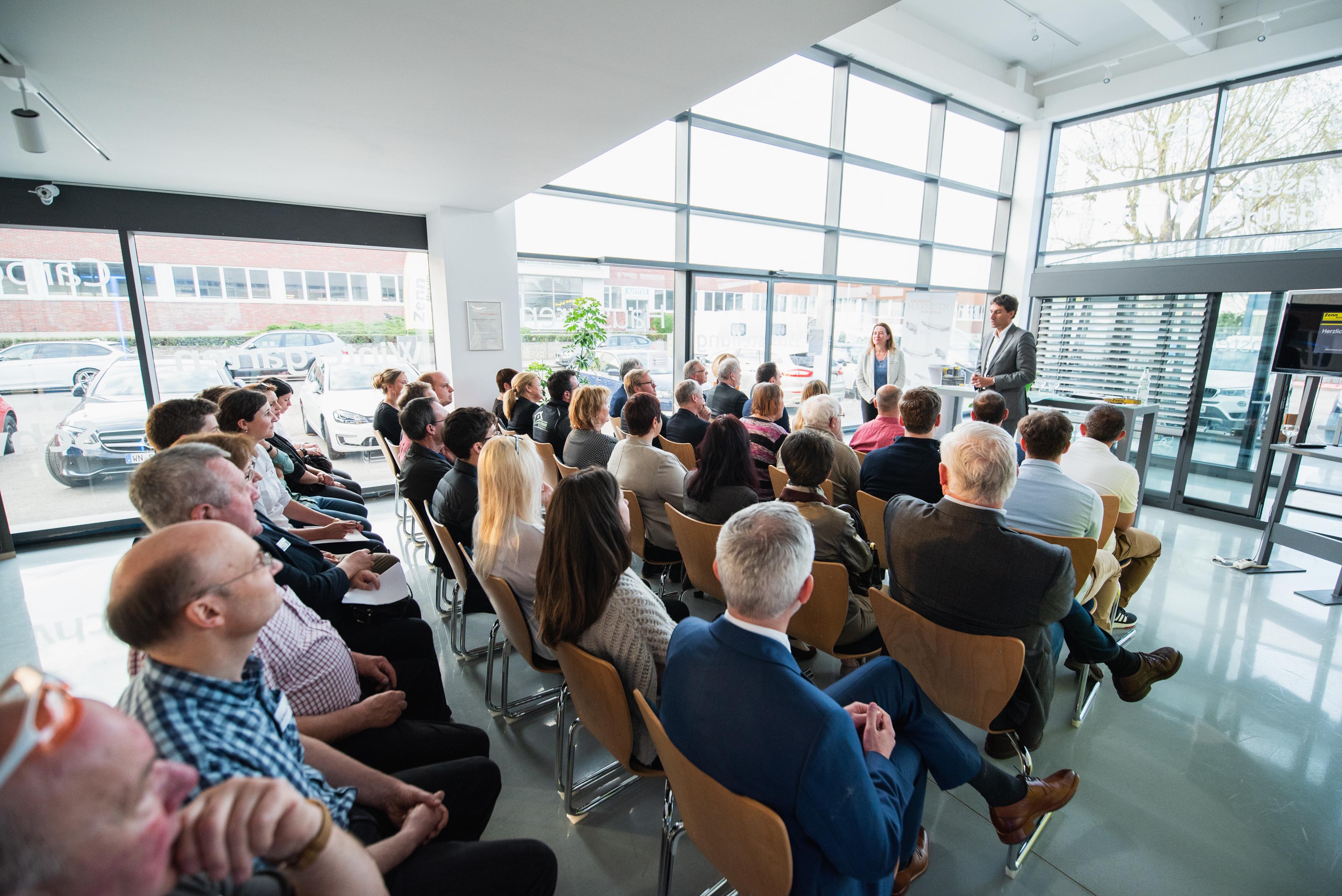 Unternehmens-Einblicke 16.04.2018 bei Metallbau Zenn