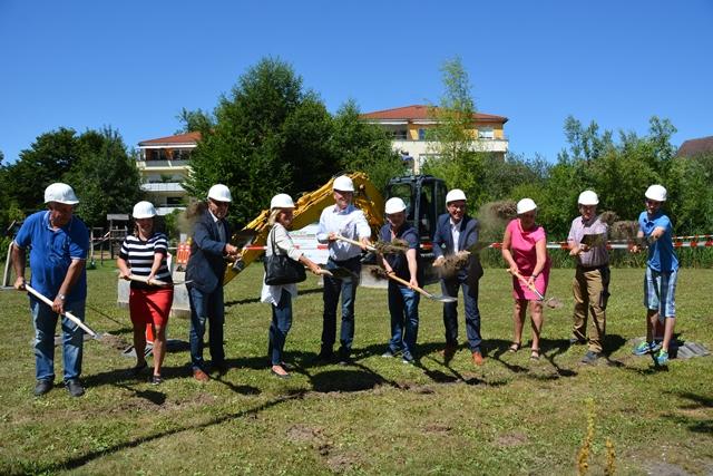 Baustart Stadtpark
