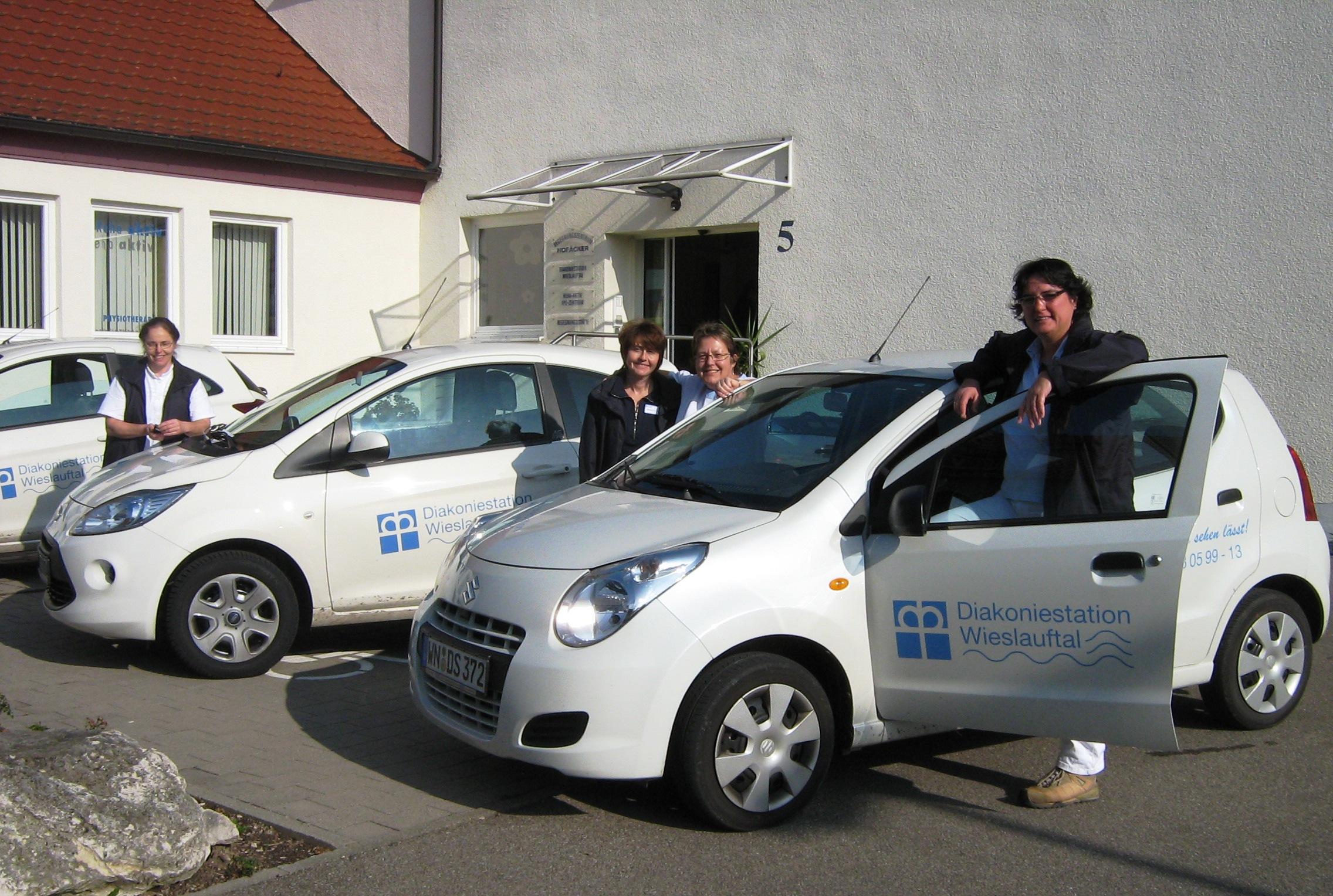 Team der Diakoniestation Wieslauftal