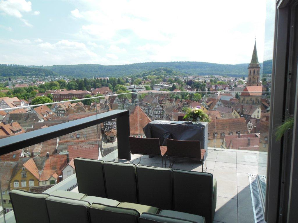 Balkon der Skybar