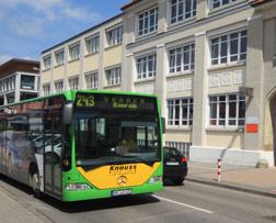 Bus im Stadtverkehr