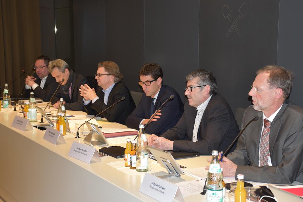 C. Gläser, K. Stier, G. Hickmann, M. Klopfer, A. Schaffer, J. Hetzinger (v.l.).