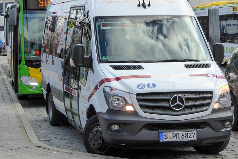 Ab 10. März fährt der Bus von Freitagnachmittag bis Sonntagabend auf Bestellung.