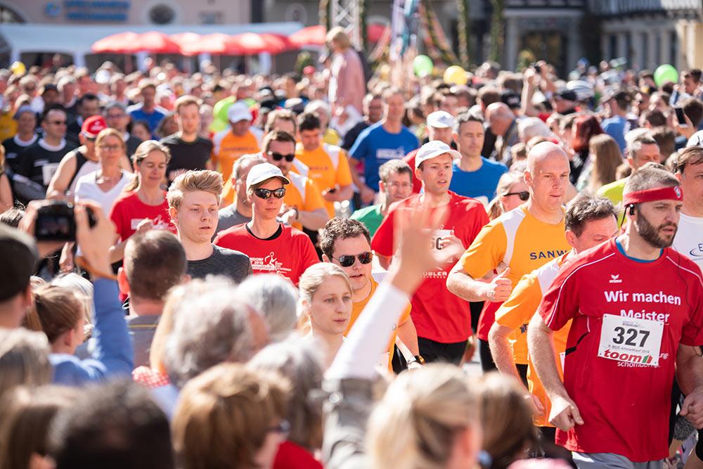 Insgesamt nahmen 1.856 Sportler am 9. BDS-Altstadtlauf teil.