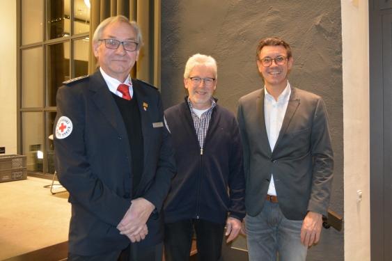 Josef Herbert, Friedrich Fahrner, BM Thorsten Englert