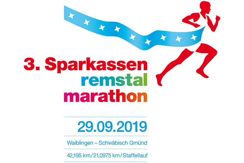 Logo des Sparkassen Remstal-Marathons