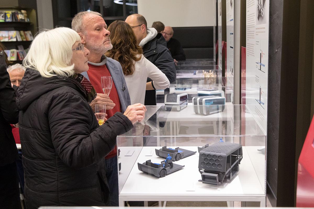 Noch bis Mitte Februar ist die Ausstellung rund um Mobilität im Rathaus am Marktplatz zu sehen.