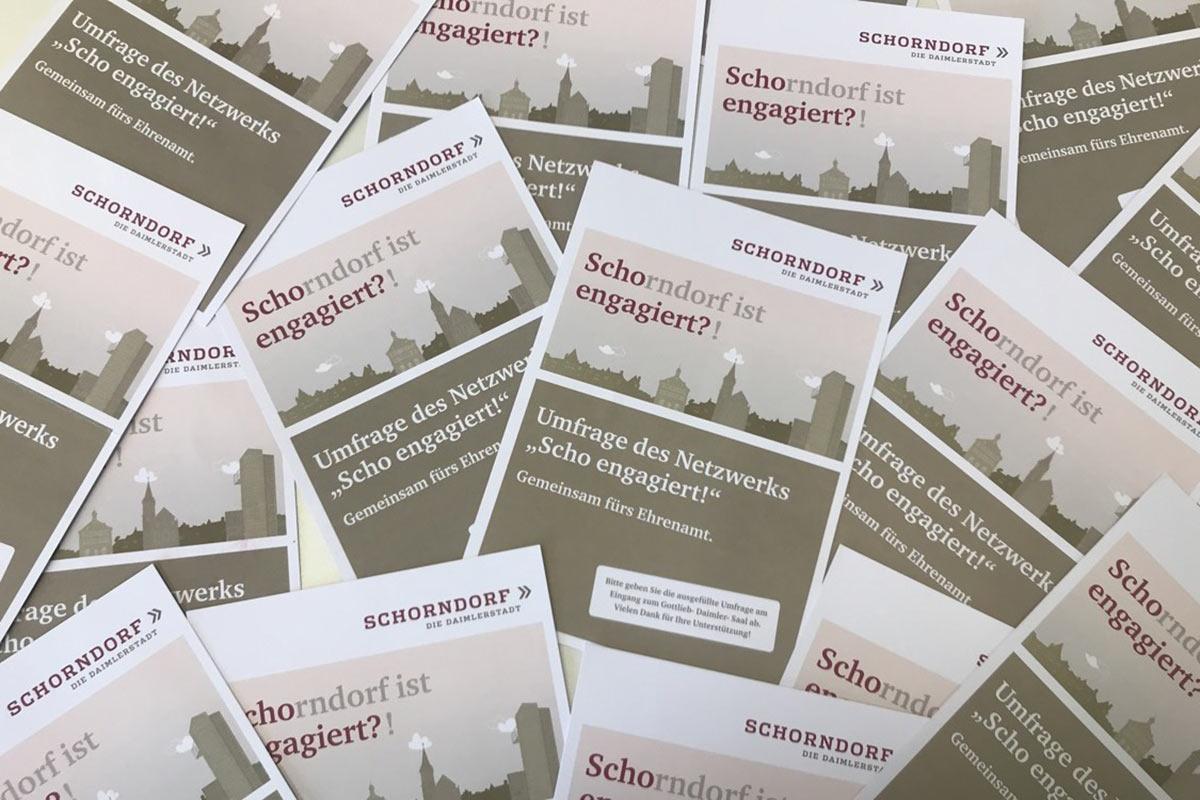 Beim Ehrenamtsfest wurden die Bedarfe der engagierten Schorndorfer abgefragt und nun ausgewertet.