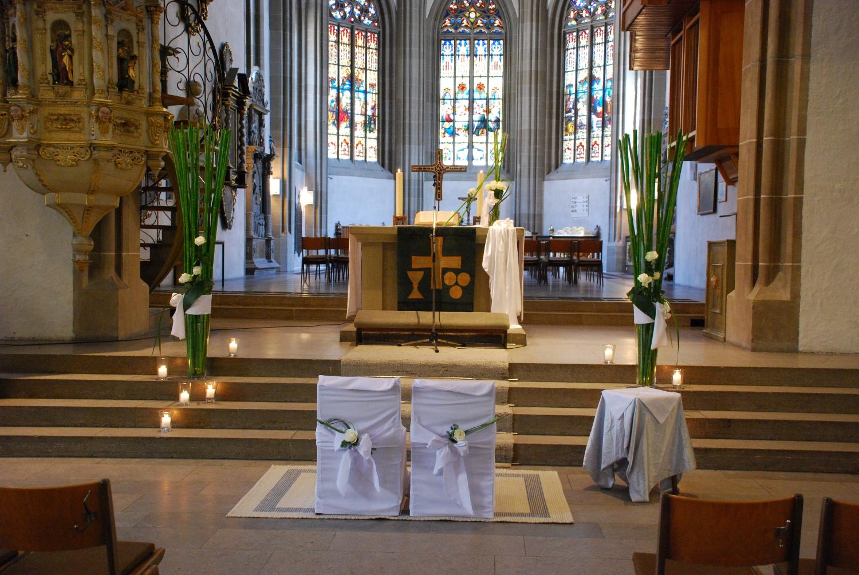 Trauung in der Stadtkirche