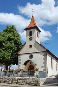 Kirche in Schlichten