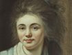 Ludovike Simanowiz - Selbstbildnis mit wehendem Haar