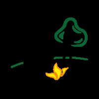 KOMM MIT RAUS - Logo