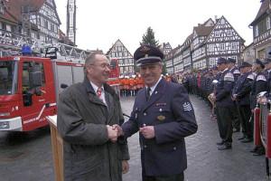 EBM Horst Reingruber (links) und Manfred Schmid