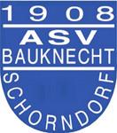 Logo des ASV Schorndorf in den Farben weiß und blau
