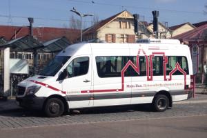 In den Reallabor-Bussen gibt es jetzt WLAN.