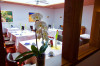 Der Speiseraum des BTS-Hotels in Schorndorf