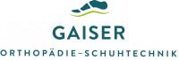 Logo der Firma Gaiser in blauer Schrift mit weißem Hintergrund