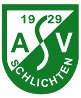 Logo von ASV Schlichten in den Farben grün und weiß