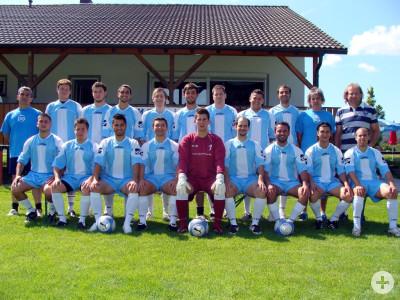 Die aktiven Fußballer von A.S.G.I Schorndorf aus dem Jahr 2009