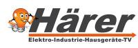 Logo von EP Härer in schwarzer Schrift mit weißem Hintergrund