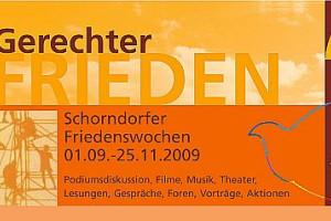 Logo der Schorndorfer Friedenswochen aus dem Jahr 2009