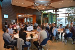 Einige Interessenten sind zum Digitalisierungs-Workshop gekommen