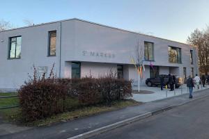 Der Neubau in der Mittleren Uferstraße 68 ist nun offiziell eingeweiht.