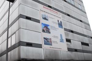 Außenansicht des Schorndorfer Postturms
