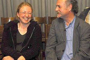 Alexa Heyder und Eberhard Abele