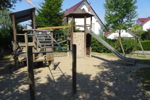 Viel Platz zum toben: Spielplatz Hasenklinge in Miedelsbach