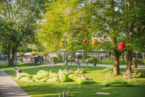 Der Schlosspark soll nach der Remstal Gartenschau nicht wieder vollständig verkleinert werden.