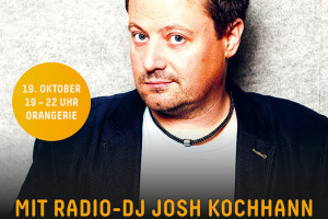 Die große Gartenschau-Kehraus-Party mit DJ Josh Kochhann