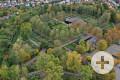 Neuer Friedhof von oben