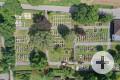 Friedhof in Weiler von oben