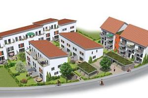 Wohnbebauung Burgstraeße