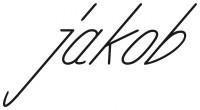Logo des Jakob Conceptstores in schwarzer Schrift mit weißem Hintergrund