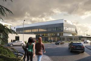 Der Neubau des Rems-Murr-Klinikums in Schorndorf