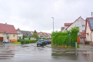 Die Stettiner Straße wird zu einer Einbahnstraße.