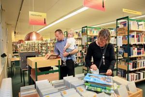 In der Stadtbücherei