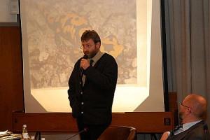 Uwe Exner bei seinem Vortrag