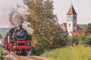 Großer Spaß: Ein Ausflug mit der Schwäbischen Waldbahn.