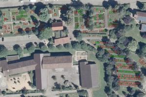 Auch der Friedhofsplan Haubersbronn liegt jetzt in digitaler Form vor.